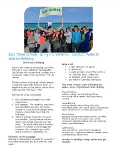 bullying info page 1